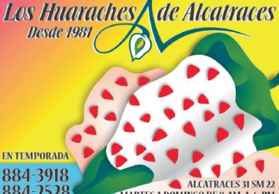 lOS HUARACHES DE ALCATRACES